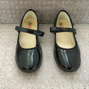 Naturino Girls Black Patent Dress Shoes